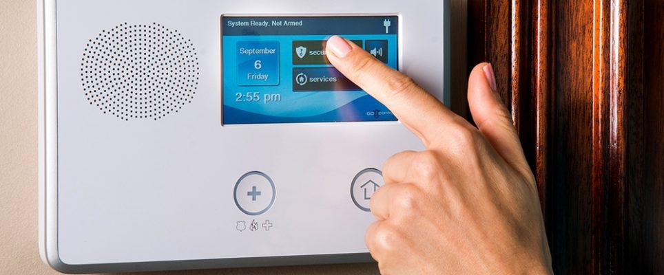 home-security-panel
